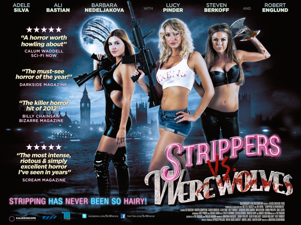 Strippers vs Werewolves quad