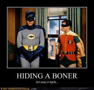 Hiding a Boner