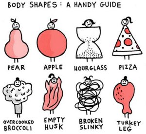 funny-pear-apple-body-shapes-pizza